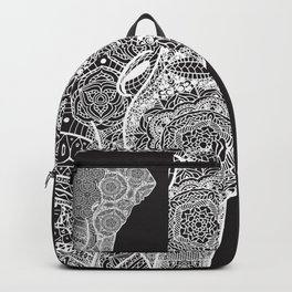Elphant mandala 2 Backpack