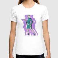leia T-shirts featuring Galactic Leia by DonCorgi