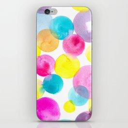 Confetti paint iPhone Skin