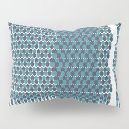 Cubist Ornament Pattern Pillow Sham