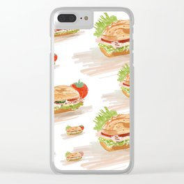 National Hoagie Day Clear iPhone Case