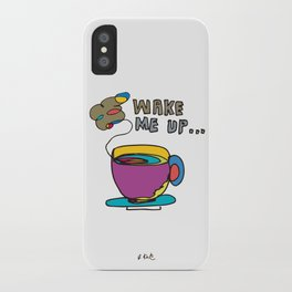 coffee first iPhone Case