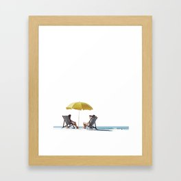 Lovely Holiday Framed Art Print