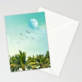 003 - A new Moon Stationery Cards
