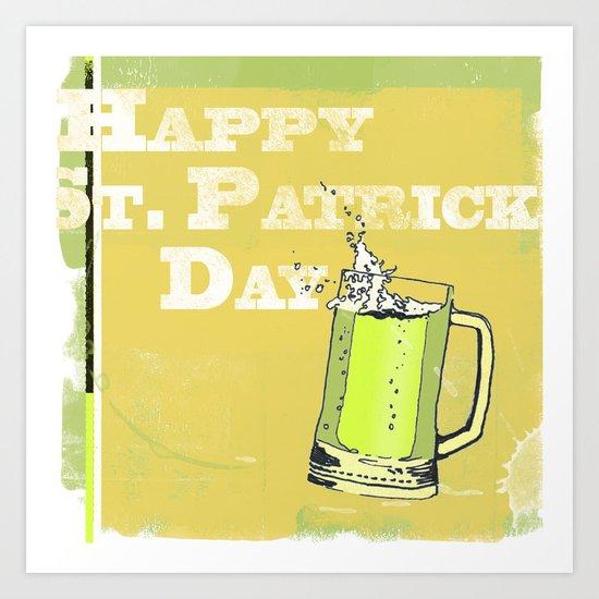 St Patrick's Day Art Print