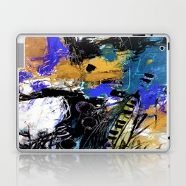 Jazzy Emotions No.1H by Kathy Morton Stanion Laptop & iPad Skin