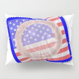 Stars And Stripes Condom Pillow Sham