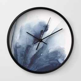 Abstract Flower Painting Wall Clock