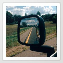 Summertime Country Roads Art Print