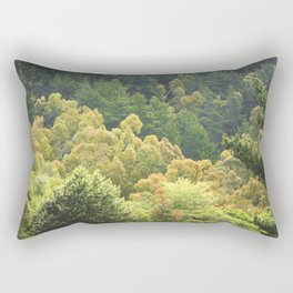 Forrest Green Rectangular Pillow