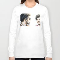 cyrilliart Long Sleeve T-shirts featuring Rebels Without A Cause by Cyrilliart