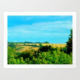 The Country of a Country Art Print