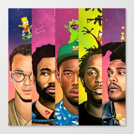 MULTI---RAPPER II Canvas Print