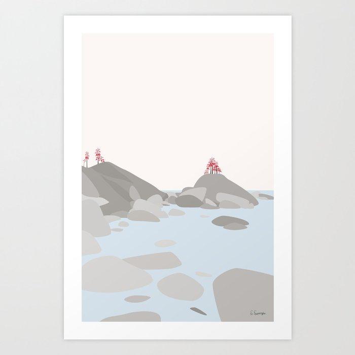 LANDSKAB Art Print