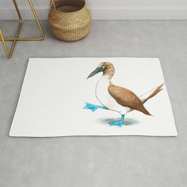 Blue Footed Booby Rug