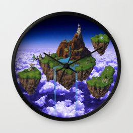 Floating Kingdom of ZEAL - Chrono Trigger Wall Clock