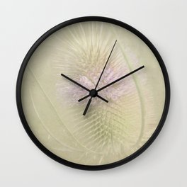 Chardon des champs Wall Clock