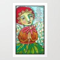 Spread Kindness Art Print