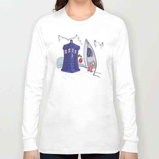 Cindy Lou WHO Long Sleeve T-shirt