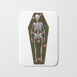 Skeleton Coffin Bath Mat