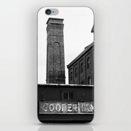 Distillery District iPhone Skin