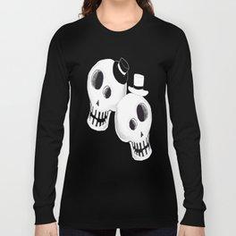 Dapper Skulls Long Sleeve T-shirt