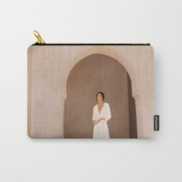 New White Dress I Carry-All Pouch