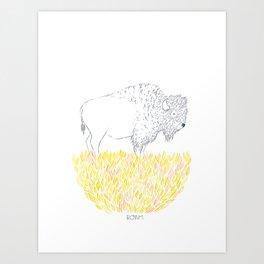 Roam. Art Print