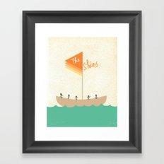 The Shins Framed Art Print