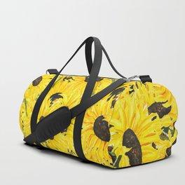 sunflower pattern 2018 1 Duffle Bag