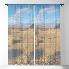 Desert Views Sheer Curtain