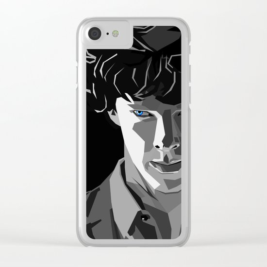 Deduction Clear iPhone Case