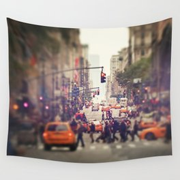 Down the Avenue Wall Tapestry