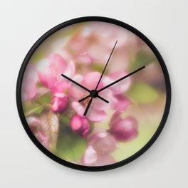 Blossom Magic Wall Clock