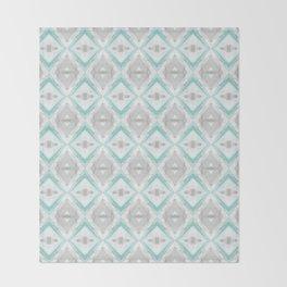 marble rhombus Throw Blanket