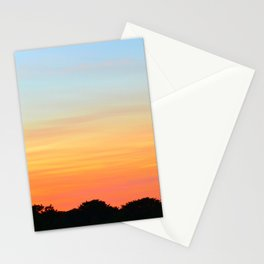 Sunset, Leith Stationery Cards