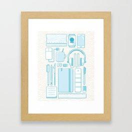 Designer Toolkit Framed Art Print