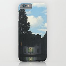 The Empire of Light - Rene Magritte iPhone Case