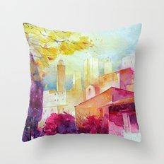 San Gimignano Throw Pillow