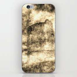 Hadleigh Castle Vintage iPhone Skin