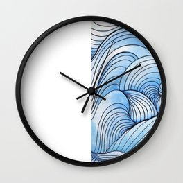 Riding the Radio Waves Wall Clock