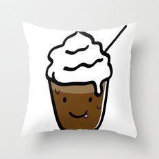 Frappuccino Throw Pillow