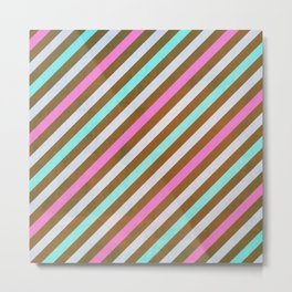 CUTE DONUTS PATTERNS 479 Metal Print