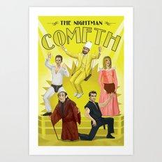 It's Always Sunny 'Nightman Cometh' Broadway Poster Art Print