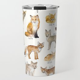 Foxes Travel Mug