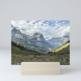 Catching a View from Going to the Sun Road Mini Art Print