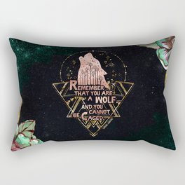 ACOWAR - You Are A Wolf Rectangular Pillow