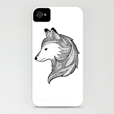 Wolf iPhone (4, 4s) Slim Case