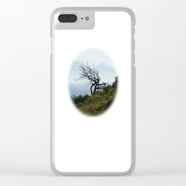 Bay Tree Clear iPhone Case