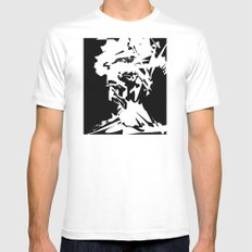 An Old Man Mens Fitted Tee White MEDIUM